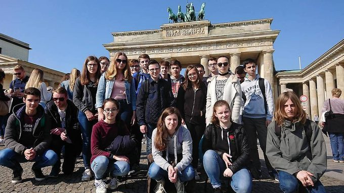 Les germanistes visitent Berlin